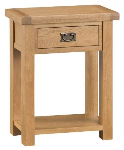 Chelmsford Oak 1 Drawer Telephone Table